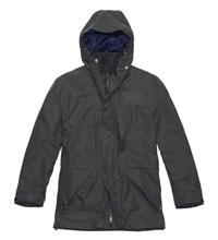 Versatile, mid-length waterproof jacket.
