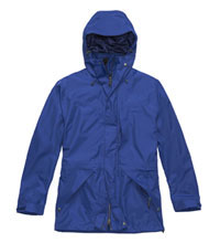 Versatile, mid-length waterproof jacket.