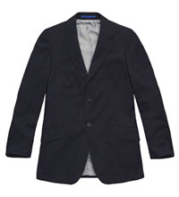 Technical travel suit jacket.