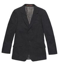Technical travel suit jacket.