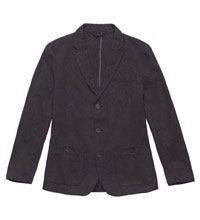Technical, casual linen jacket.
