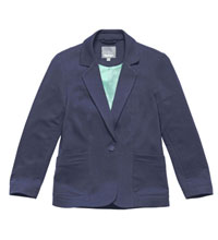 Technical, casual jersey blazer.