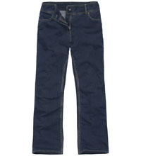 Technical denim jeans.