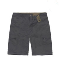 Rugged, technical cargo shorts.