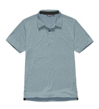 Technical polo shirt.