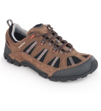 Lightweight, trail-walking shoe.