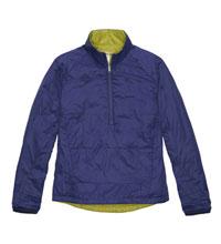 Lightweight, insulated pullover.