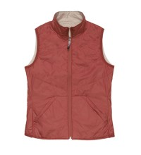 Ultra-lightweight insulated vest.