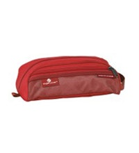 Duffel-style toiletry bag.