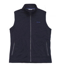 Technical fleece vest with everyday styling.