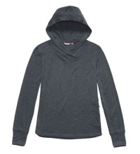 Relaxed, technical hooded top.