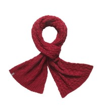 Warm knitted scarf.