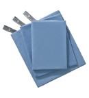 Ultra-light, ultra-absorbent travel towel.