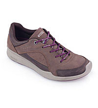 Lightweight shoe for walking and travel.