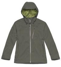 Protective wet-weather jacket.