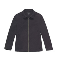 Technical jacket with classic styling.