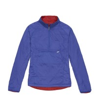 Two tops in one: fully reversible and insulated for core warmth.