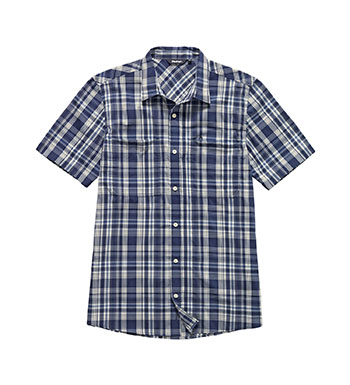 Polycotton summer weight shirt.