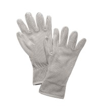 Lightweight, technical fleece gloves.