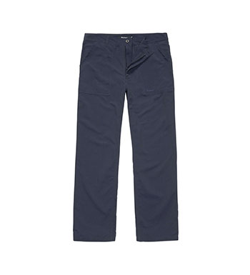 Lightweight, canvas outdoor trousers.