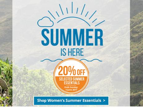 Womens Summer Essentials